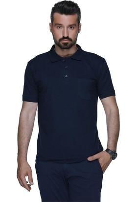 Buenza Alg Polo Yaka Locaste Slimfit Tshirt - Lacivert