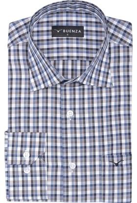 Buenza Sry 2991 Uzun Kol Gömlek Bej