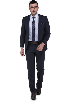 Buenza Torres Slim Fit Mono Tk Yrt Takım Elbise - Kahverengi