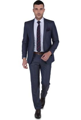 Buenza Moreno Slim Fit Mono Tk Yrt Takım Elbise - Kahverengi