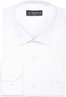 Buenza Sry 4117 Uzun Kol Gömlek Krem