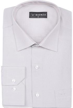Buenza Plt 70 Uzun Kol Klasik Gömlek Bej