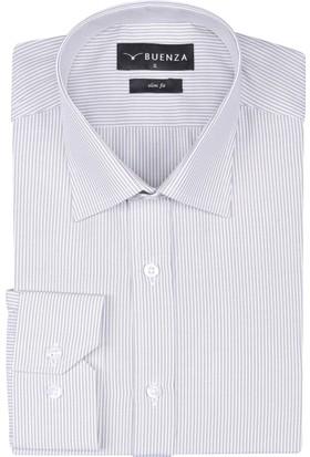 Buenza Sry 1029 Uzun Kol Gömlek Bej