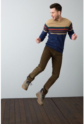 U.S. Polo Assn. Erkek Pantolon Yeşil