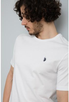 U.S. Polo Assn. Erkek T-Shirt Beyaz