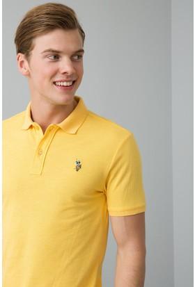 U.S. Polo Assn. Erkek T-Shirt Sarı