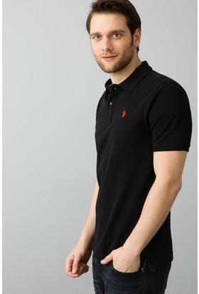 U.S. Polo Assn. Erkek T-Shirt Siyah