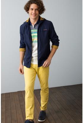 U.S. Polo Assn. Erkek Pantolon Sarı