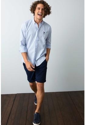 U.S. Polo Assn. Erkek Gömlek Mavi