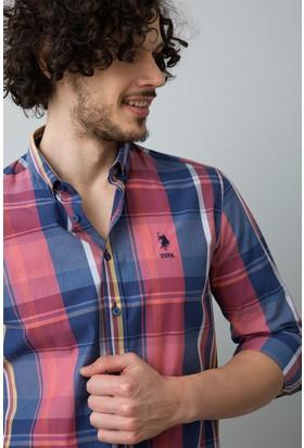 U.S. Polo Assn. Erkek Gömlek Kırmızı