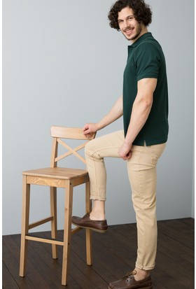 U.S. Polo Assn. Erkek Pantolon Beyaz
