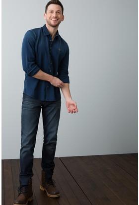 U.S. Polo Assn. Erkek Pantolon Mavi