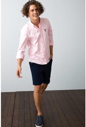 U.S. Polo Assn. Erkek Gömlek Pembe