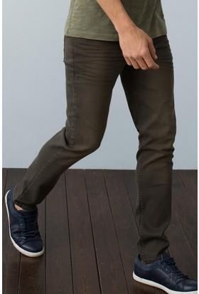 U.S. Polo Assn. Erkek Pantolon Kahverengi