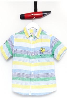 U.S. Polo Assn. Erkek Çocuk Gömlek Sarı