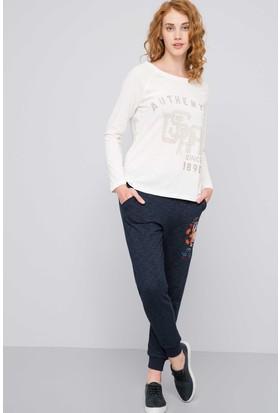 U.S. Polo Assn. Kadın Sweat Shirt Beyaz