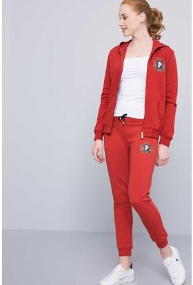 U.S. Polo Assn. Kadın Eşofman Kırmızı