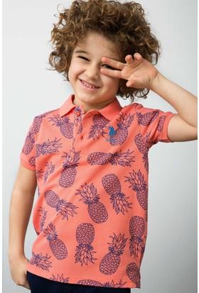 U.S. Polo Assn. Erkek Çocuk T-Shirt Kırmızı