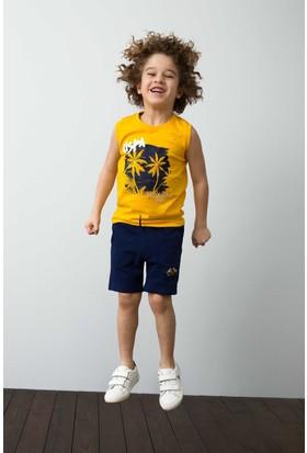 U.S. Polo Assn. Erkek Çocuk T-Shirt Sarı