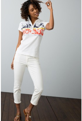 U.S. Polo Assn. Kadın T-Shirt Lacivert