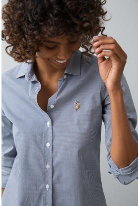 U.S. Polo Assn. Kadın Gömlek Lacivert