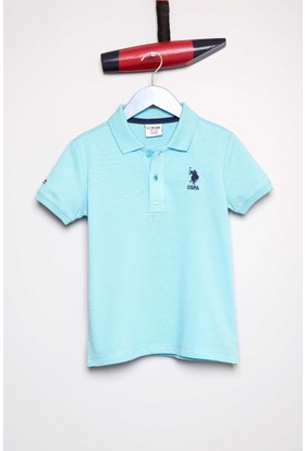U.S. Polo Assn. Erkek Çocuk T-Shirt Mavi