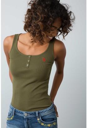 U.S. Polo Assn. Kadın Atlet Yeşil