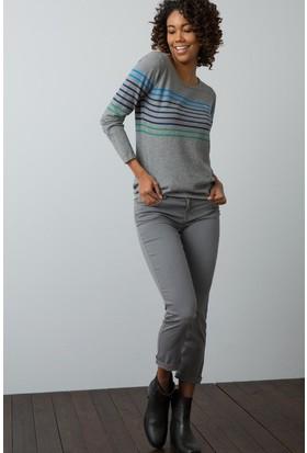 U.S. Polo Assn. Kadın Pantolon Gri
