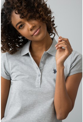U.S. Polo Assn. Kadın T-Shirt Gri
