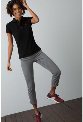 U.S. Polo Assn. Kadın T-Shirt Siyah