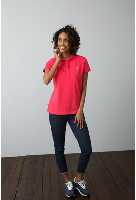 U.S. Polo Assn. Kadın T-Shirt Pembe