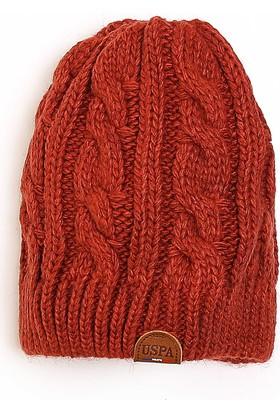 U.S. Polo Assn. Kadın Şapka Kırmızı