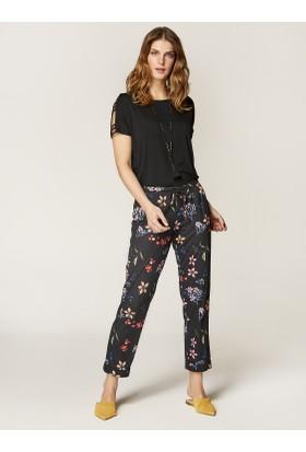 Faik Sönmez Desenli Pantolon 36262