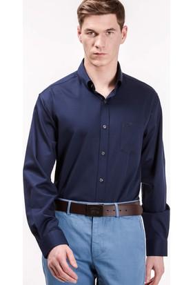 Lacoste Erkek Regular Fit Lacivert Gömlek Ch9623.Pmy
