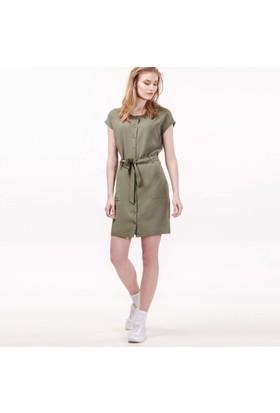 Lacoste Kadın Asker Yeşili Elbise Ef0815.15Y