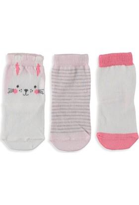 LC Waikiki Kız Bebek Patik Çorap 3'lü