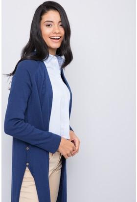 U.S. Polo Assn. Kadın Hırka Lacivert