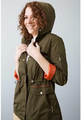 U.S. Polo Assn. Kadın Kaban Yeşil