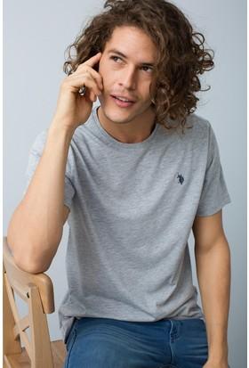 U.S. Polo Assn. Erkek T-Shirt Gri
