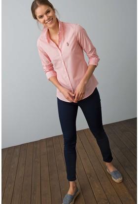U.S. Polo Assn. Kadın Gömlek Turuncu