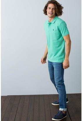 U.S. Polo Assn. Erkek T-Shirt Yeşil