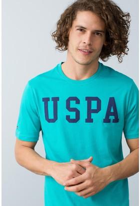 U.S. Polo Assn. Erkek T-Shirt Mavi