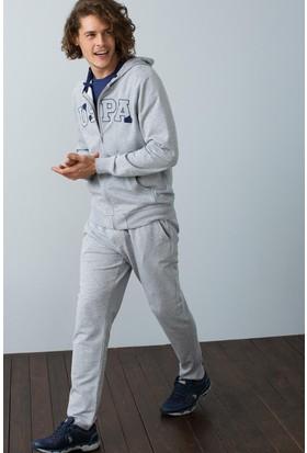 U.S. Polo Assn. Erkek Sweat Shirt Gri