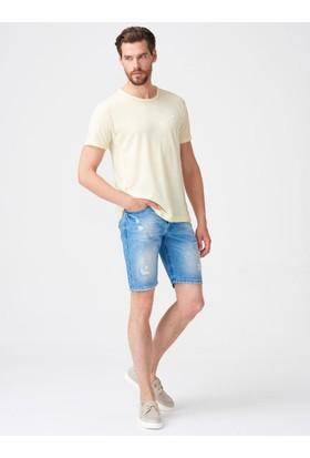 Xint Bisiklet Yaka Basic Tshirt
