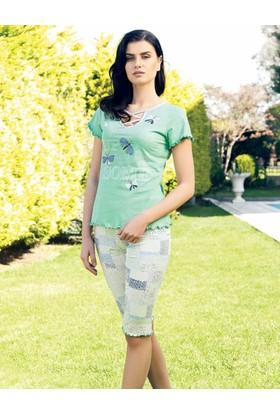 Şahinler Kadın Kapri Takım Yeşil MBP24017-2