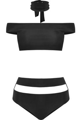 Nur Karaata Atiello Bikini Siyah