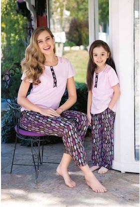 Yeni İnci CKP306 Kısa Kollu Süprem Kız Çocuk Pijama Takımı