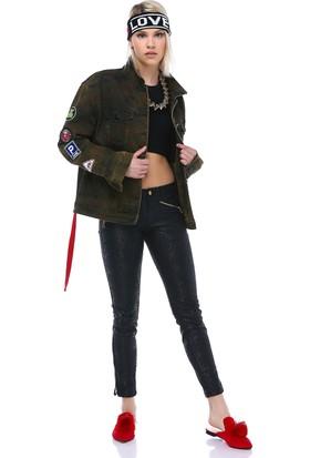 Didem Gerdanerli Kadın Kot Ceket