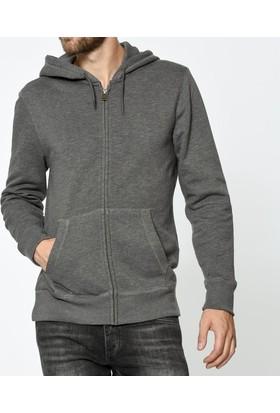 Levis Erkek Kapüşonlu Sweatshirt Zip Hoodie Classic 19356-0000