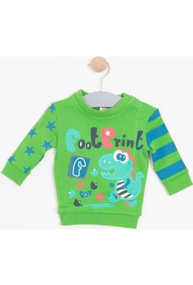 Soobe Erkek Bebek Sweatshirt Yeşil